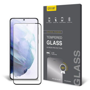 This ultra-thin tempered glass screen protector for the Samsung Galaxy S21 from Olixar offers toughness, high visibility and sensitivity all in one package. Keep your device well protected from drops, bumps and scratches.