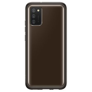 Official Samsung Galaxy A02S Slim Clear Cover - Black