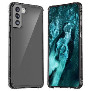 The anti-shock construction makes the Mach black case for the Samsung Galaxy S21 Plus, one of the slimmest yet most protective cases in its class. The Mach series has the style you want, and the protection your phone needs, without the extra bulk.