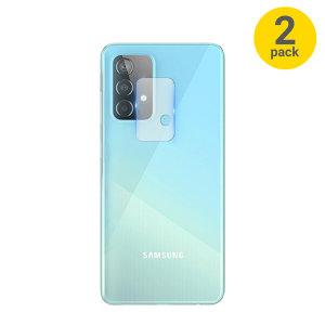 Olixar Samsung Galaxy A52 Camera Protectors - Twin Pack