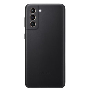 This Official high quality Samsung Leather Cover in black is the perfect way to keep your Samsung Galaxy S21 Plus protected in style. As well as looking great and being made of genuine leather, it offers ultimate protection from scrapes, bumps and drops.