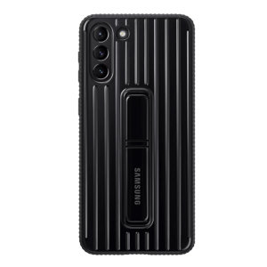 This Official Samsung Protective cover in Black is the perfect accessory for your Samsung Galaxy S21 Plus smartphone. Looks stylish, offers ultimate protection and built with a kickstand to make viewing your favourite shows a lot more convenient.