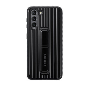 This Official Samsung Protective cover in Black is the perfect accessory for your Samsung Galaxy S21 smartphone. Looks stylish, offers ultimate protection and built with a kickstand to make viewing your favourite shows a lot more convenient.