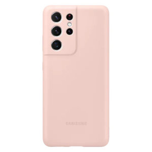 Protect your Samsung Galaxy S21 Ultra from lifes little accidents with this Official Silicone Case in Pink. Offering a stylish, simplistic and protective design, this case is the perfect accessory for your Galaxy S21 Ultra.