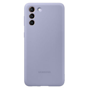 Official Samsung Galaxy S21 Silicone Cover Case - Violet