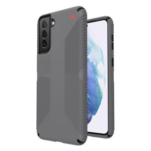 Gain premium protection against drops and scratches with this stunning Presidio2 Grip Case for your Galaxy S21 Plus from Speck. This case is lightweight and slim making it convenient, as well as sophisticated with easy grip, avoiding any unwanted slips.