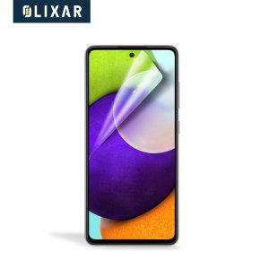 Olixar Samsung Galaxy A52 Film Screen Protector - 2-in-1 Pack