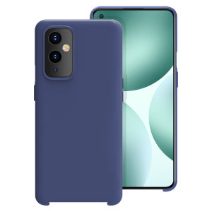 Olixar OnePlus 9 Soft Silicone Case - Midnight Navy