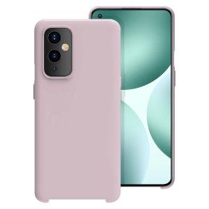 Olixar OnePlus 9 Soft Silicone Case - Pastel Pink