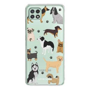 LoveCases Samsung Galaxy A22 5G Gel Case - Pawsome