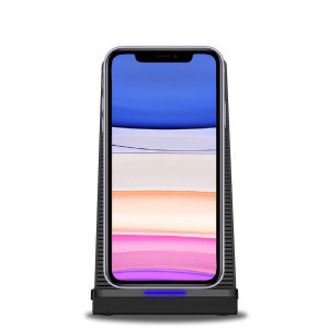 Want to be able to use your iPhone 11 whilst it charges and not worry about overheating? Well, with the Olixar 10W Wireless Charging Stand With Cooling Fan you can! The fan will keep your phone cool, which helps keep your battery healthier for longer.