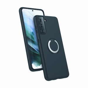 The Zizo revolve case in Magnetic Black brings style & function together into a slim design whilst fully protecting your Samsung Galaxy S21 from scrapes & bumps. The ring at the back doubles as a kickstand to watch your favourite series conveniently!