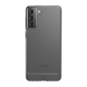 The stunning, Urban Armour Gear Lucent Case in Ice for the Samsung Galaxy S21 Plus not only has a modern, sophisticated design, but also offers unrivalled, military-tested, 360 degree protection from scrapes, bumps and drops.
