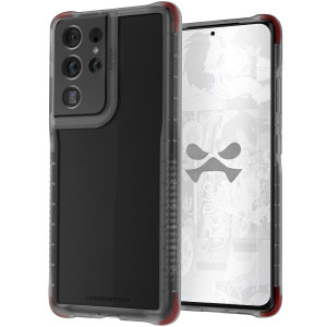 Custom moulded for the Samsung Galaxy S21 Ultra, the Ghostek Covert 5 Ultra-Thin Smoke case provides a stylish, slim fit that provides ultimate protection against scrapes, bumps and drops, without impeding on your S21 Ultra's stunning design.