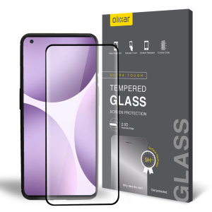 Olixar OnePlus 9 Pro Case Compatible Tempered Glass Screen Protector