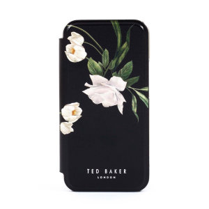 Ted Baker Elderflower iPhone 7 Folio Case - Black / Silver