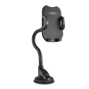 Quick, effortless and safe - the Olixar Dual Attachment phone holder is the ultimate universal in-car accessory. With an adjustable gooseneck & a lock latch suction cup, this really is the best way to view your phone safely from 360°'s whilst you drive.