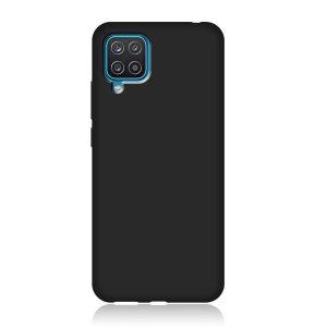 Samsung Galaxy A12 Slim TPU Protective Case - Matte Black