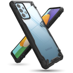 Ringke Fusion X Samsung Galaxy A52 Tough Case  - Black