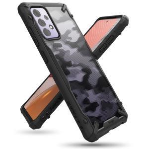 Ringke Fusion X Samsung Galaxy A72 Tough Case  - Camo Black