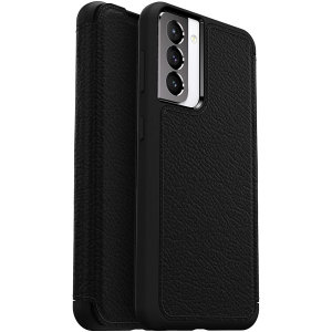 OtterBox Strada Series Samsung Galaxy S21 Wallet Case - Black