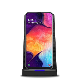 Want to be able to use your Galaxy A50 whilst it charges & not worry about overheating? Well, with the Olixar 10W Wireless Charging Stand With Cooling Fan you can! The fan will keep your phone cool, helping to keep your battery healthier for longer!