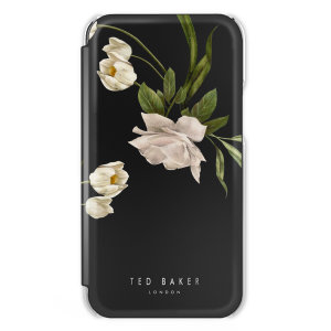 Form-fitting & bulk-free, the Elderflower Folio case for the S21 from Ted Baker has a ethereal, otherworldly floral aesthetic, offers superlative protection for your device from drops, scrapes & bumps & even has an inbuilt mirror to check your look!