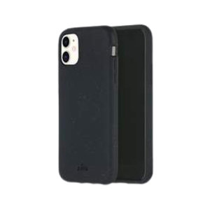 Pela Eco-Friendly iPhone 11 Biodegradable Slim Case - Black