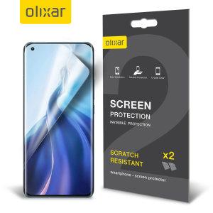 Olixar Xiaomi Mi 11 Film Screen Protectors - Two Pack