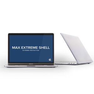 "MaxCases SnapShell MacBook Pro 13"" 2018 Protective Case - Clear"