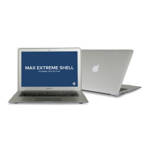 """MaxCases SnapShell MacBook Air 13"""" 2018 Protective Case - Clear"""