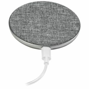 Ventev 10W Qi Fast Charging Wireless Charging Pad - Grey