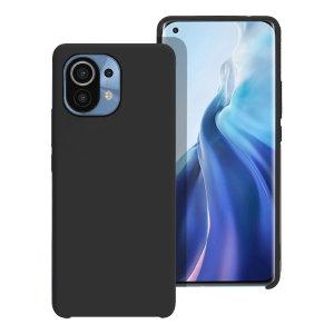 Olixar Soft Silicone Xiaomi Mi 11 Case - Black