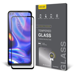 Olixar Motorola Edge S Tempered Glass Screen Protector