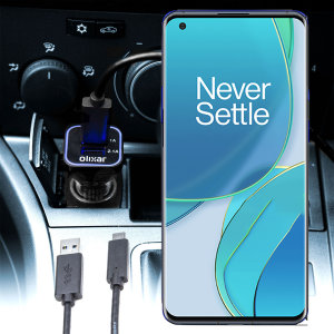 Olixar High Power OnePlus 9 Pro Car Charger & 1m Cable - Black