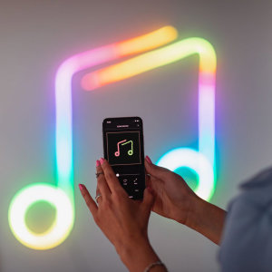Twinkly Flex Smart App-controlled RGB Flexible Room Lights - 3m