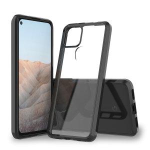 Olixar NovaShield Google Pixel 5a Protective Bumper Case - Black