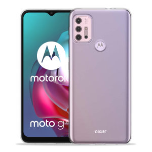 Olixar Ultra-Thin Motorola Moto G10 Case - 100% Clear