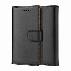 Samsung Galaxy S9 Plus Genuine Leather Wallet Case - Black