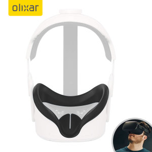 Olixar Oculus Quest 2 Silicone VR Face Cover - Black
