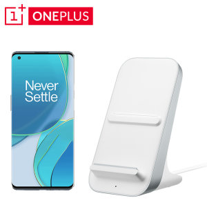 Official OnePlus 9 Pro Warp Charge 50W Fast Wireless Charger- White