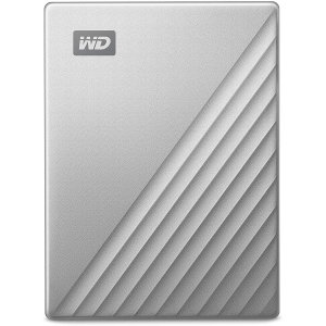Western Digital My Passport Ultra PC & Gaming 1TB External HDD- Silver