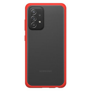 OtterBox React Samsung Galaxy A52 Ultra Slim Protective Case - Red