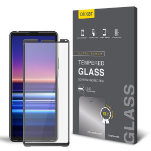 Olixar Sony Xperia 10 III Tempered Full Cover Screen Protector