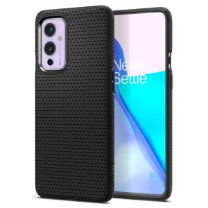 Spigen Liquid Air OnePlus 9 Slim Case - Matte Black