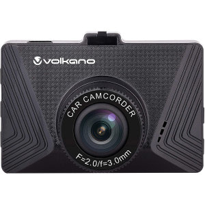 Volkano Suburbia Series 720P Dash Camera - Black