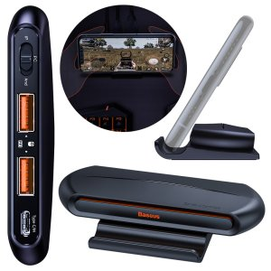 Baseus Wireless Mobile Gaming Adaptor W/ 2 USB Ports & Inbuilt Stand