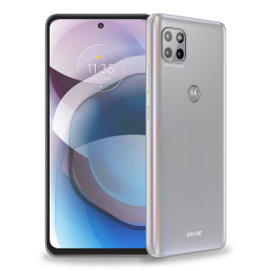Olixar Ultra-Thin Motorola One 5G Ace Case - 100% Clear