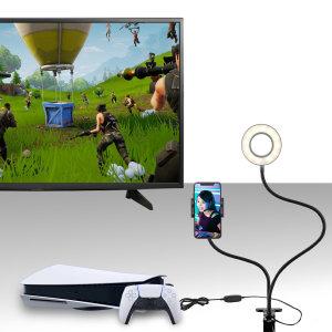 Olixar PS5 Ultimate Live Streaming & Vlogging Starter Kit - Black