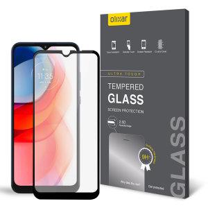 Olixar Moto G Play 2021 Tempered Glass Screen Protector